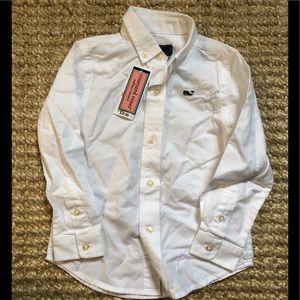 NWT Vineyard Vines Boys Oxford Shirt